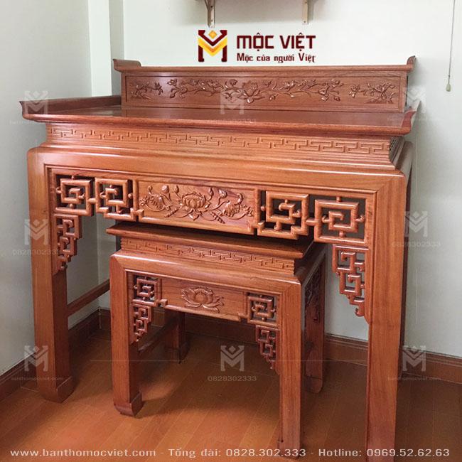 Mẫu Bàn Thờ Nhị Cấp Mộc Việt 2