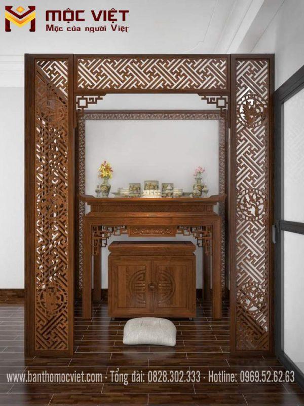 mẫu bàn thờ hiện đại đẹp chuẩn phong thủy