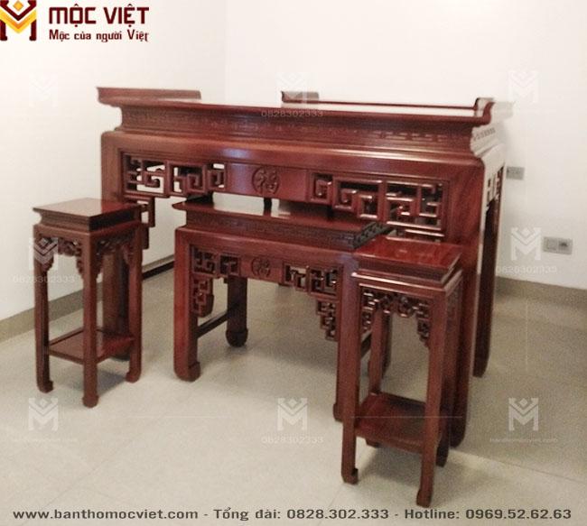 Bàn Thờ Gỗ đẹp Mộc Việt Mẫu Bt 2024 1