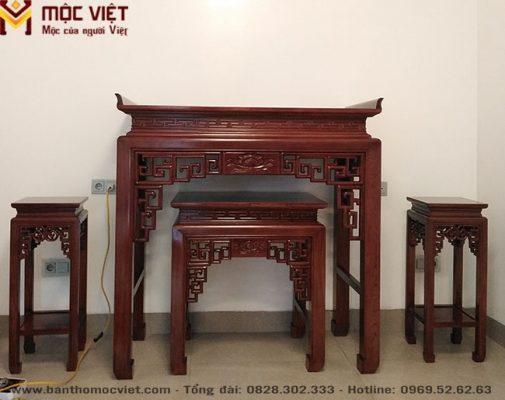 Bàn Thờ Gỗ đẹp Mộc Việt Mẫu Bt 2024 2