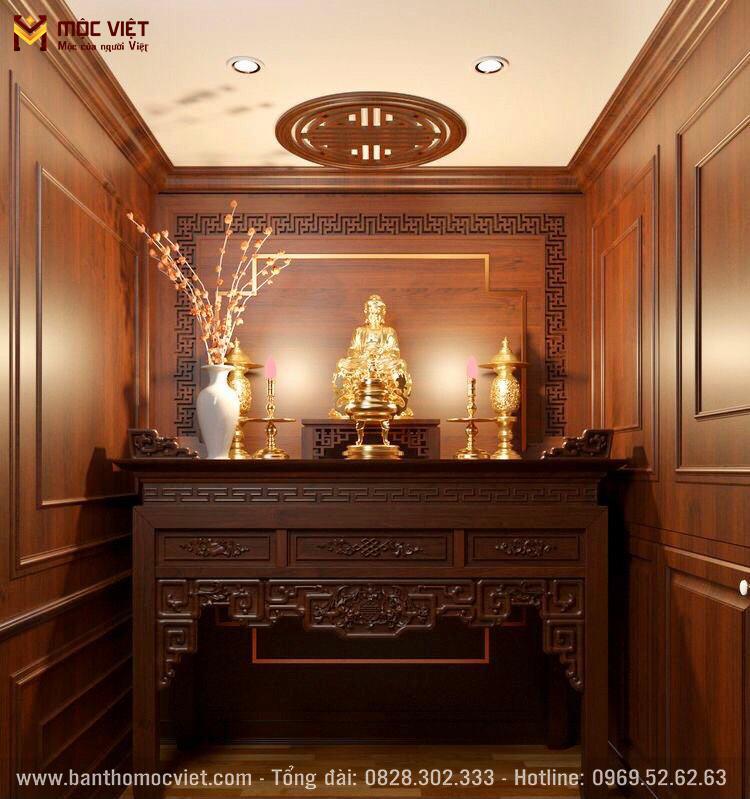 Phòng Thờ đẹp Mộc Viêt 4