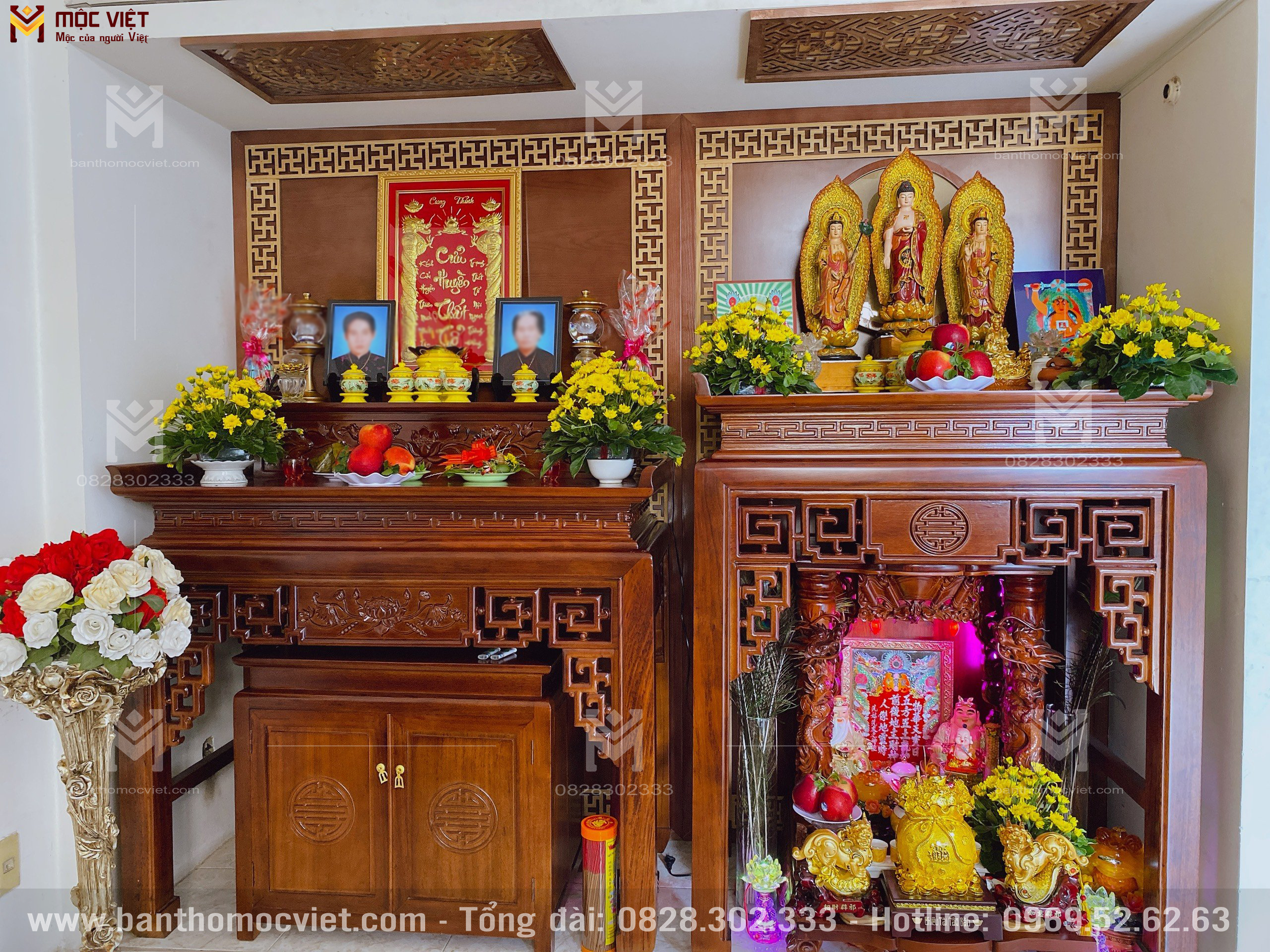 Phong Thờ Phật đẹp