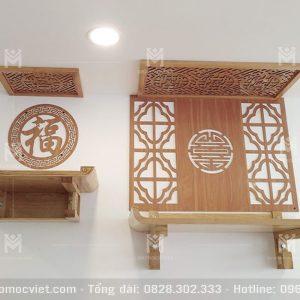 Mẫu Ban Thờ Phật 2 Tầng đẹp