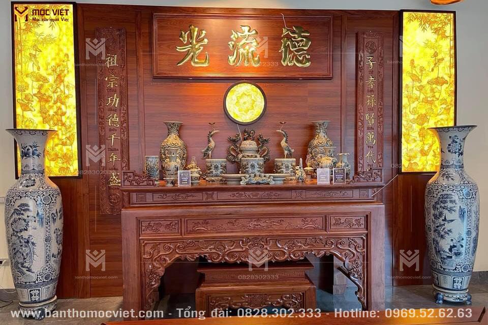 Phòng Thờ Nhà Biệt Thự đẹp4