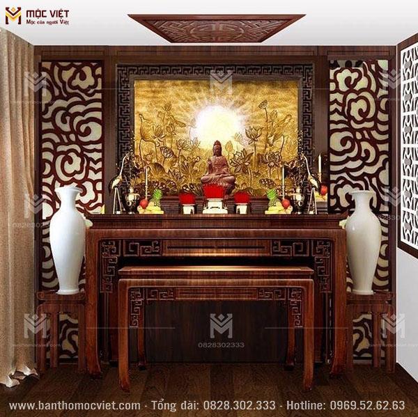 Phòng Thờ Phật Hiện đại đep