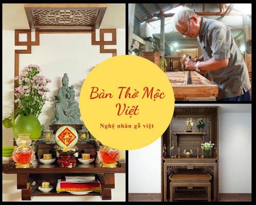 Bàn Thờ Chung Cư Mộc Việt được Sản Xuất Tỉ Mỉ Từng Chi Tiết